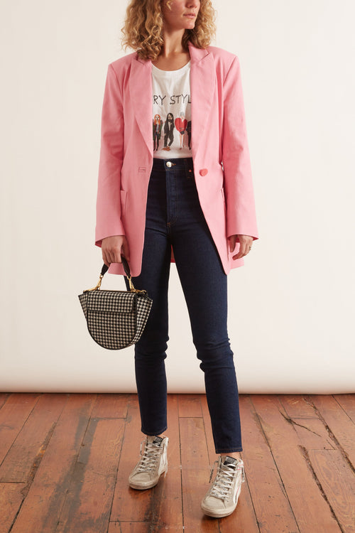 Liberty Blazer in Moroccan Rose