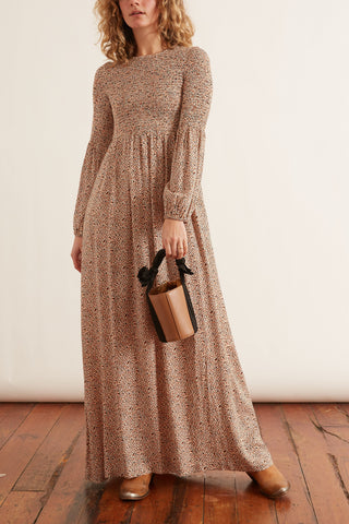 Sandy Desert Dress in Ecru