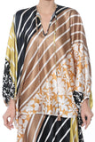 Hebe Blouse in Desert Dawn Multi