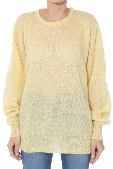 Isla Sweater in Sea Lemon