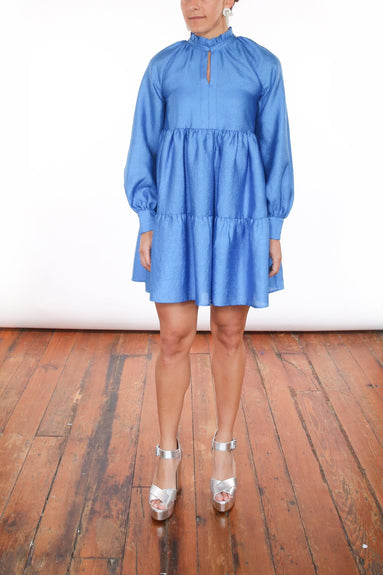 Jasmine Dress in Blue
