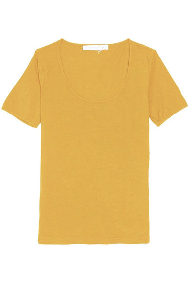 The Frequent Flyer Tee in Bee Pollen