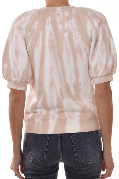 Rocha Pullover in Rose Tie Dye