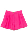 Viscose Cupro Fluid Short in Pink Spirit