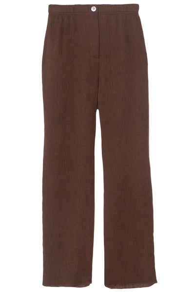Cropped Pant in Dark Olive