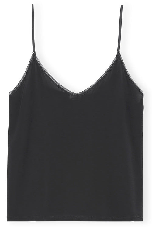 Rayon Cami in Black