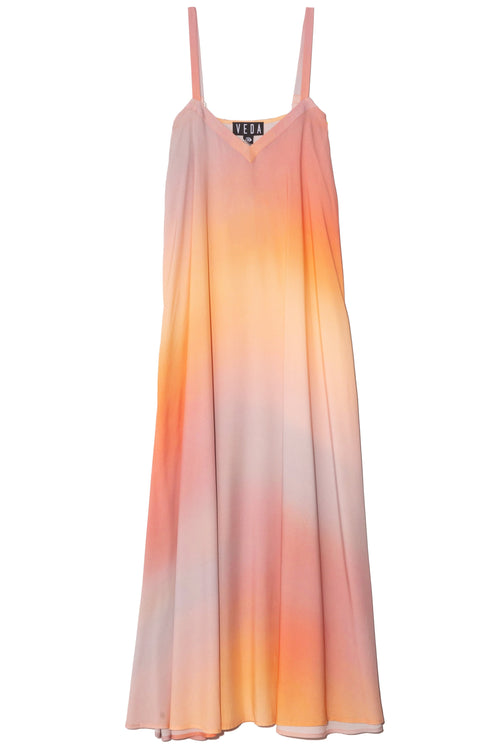 Fiesta Dress in Sunset Ombre