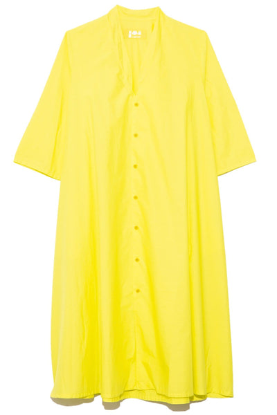 Teseo Dress in Chartreuse