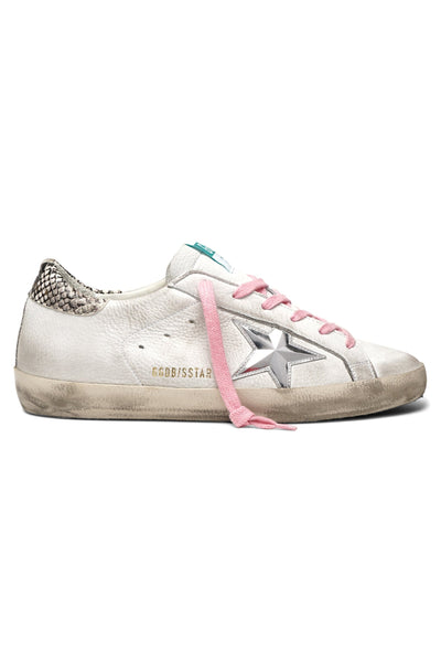 Superstar Sneaker in White Nabuk/3D Star