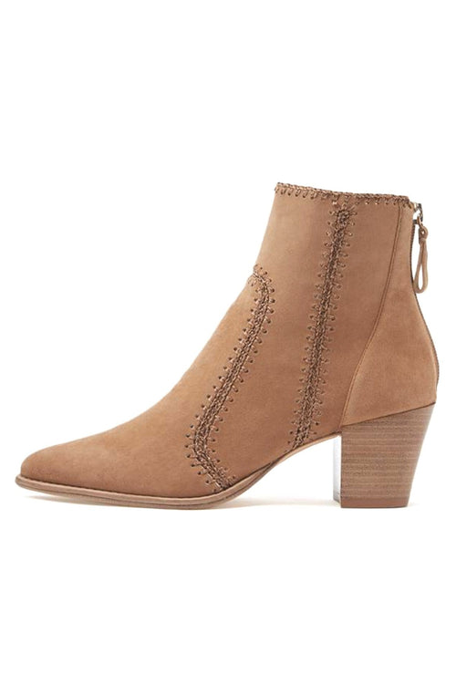 Benta Boot in Light Beige/Natural