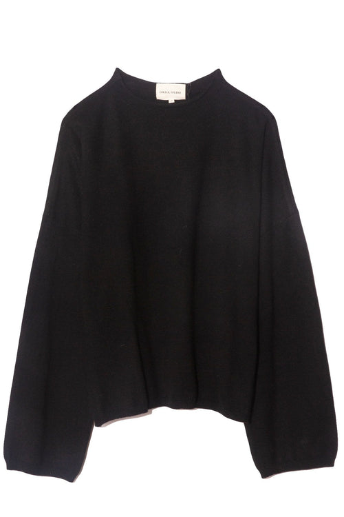 Vacca Cashmere Sweater in Black