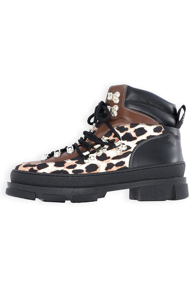 Hiking Boot in Leopard