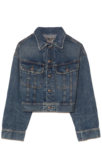 TS Mia Trucker Jacket in Kelly