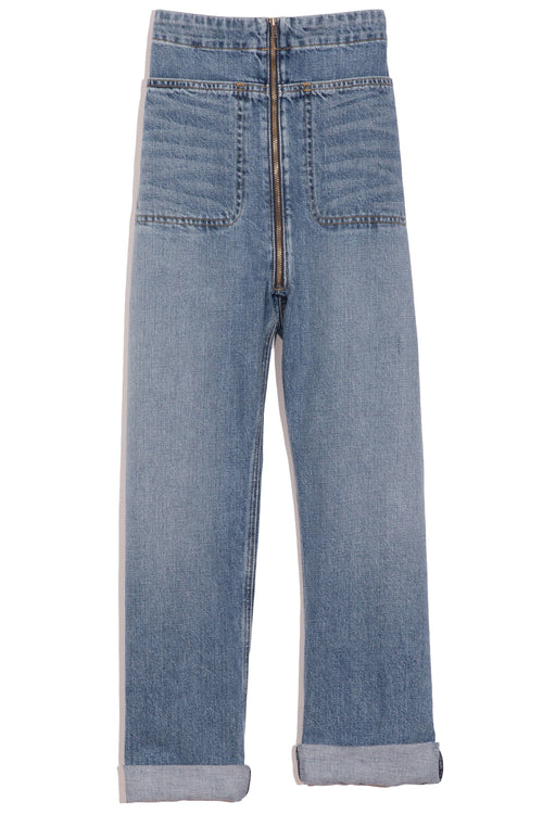 Barrie Pant in Washed Indigo