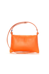 Mini Puffin Bag in Fire Orange