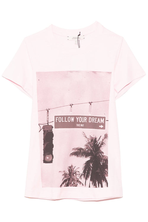 Follow Your Dream Shirt in Pale Rose