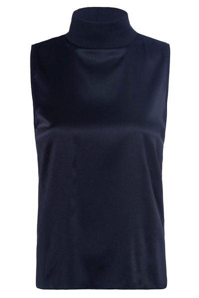 Shimmering Shine Top in Dark Navy