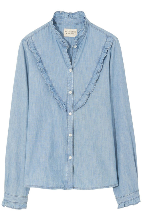 Marcela Shirt in Chambray Wash