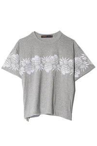 Sun Surf / Pineapple Pullover in Light Grey