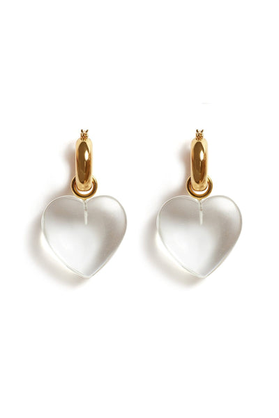 Cloud Nine Earrings in Clear
