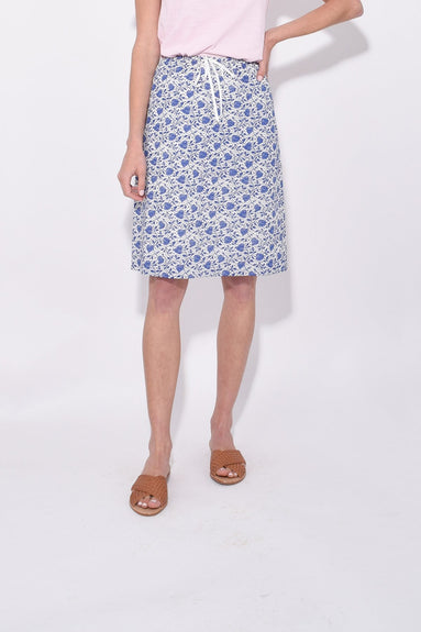 Ikat Heart Slip Skirt in Ikat Heart