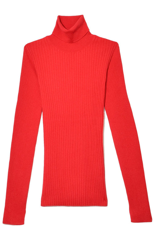 Ribolita Turtleneck in Poinsettia