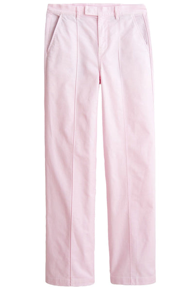 Twill Trouser in Light Pink