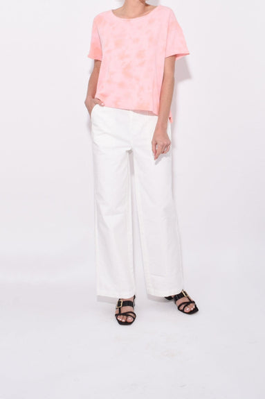 Twill Trouser in White