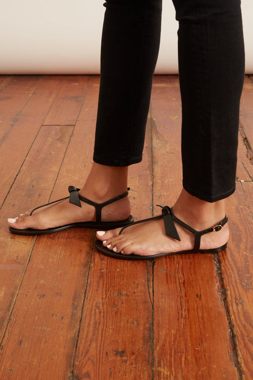Clarita Jelly Sandal in Black