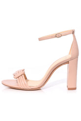 Chiara Block Sandal in Light Sand