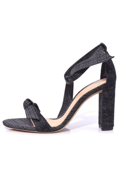 Clarita Block Sandal in Black