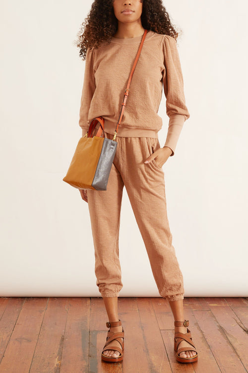 Olimpio Sweatshirt in Camel
