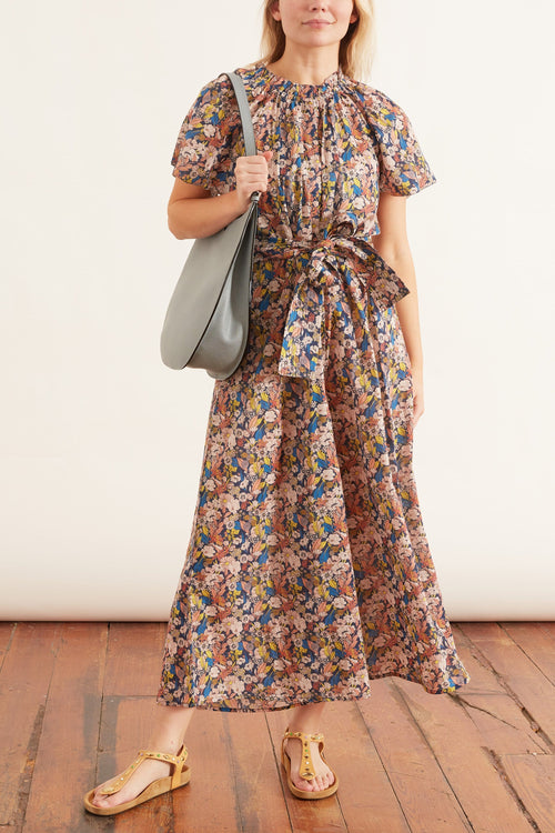 Pula Jumpsuit in Night Arte Floral