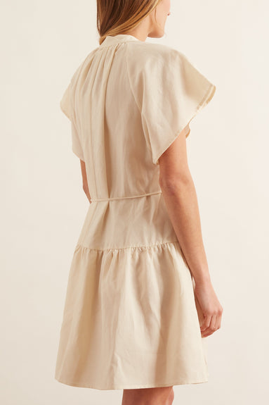 Nyang Nyang Dress in Cream