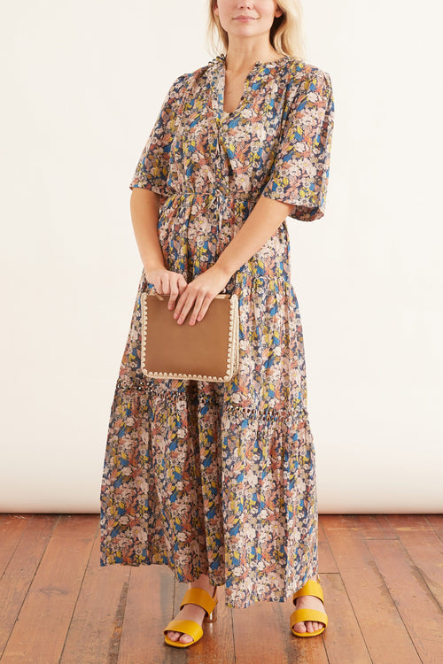 Alta Dress in Night Art Floral