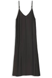 Josephina Slip Dress in Black