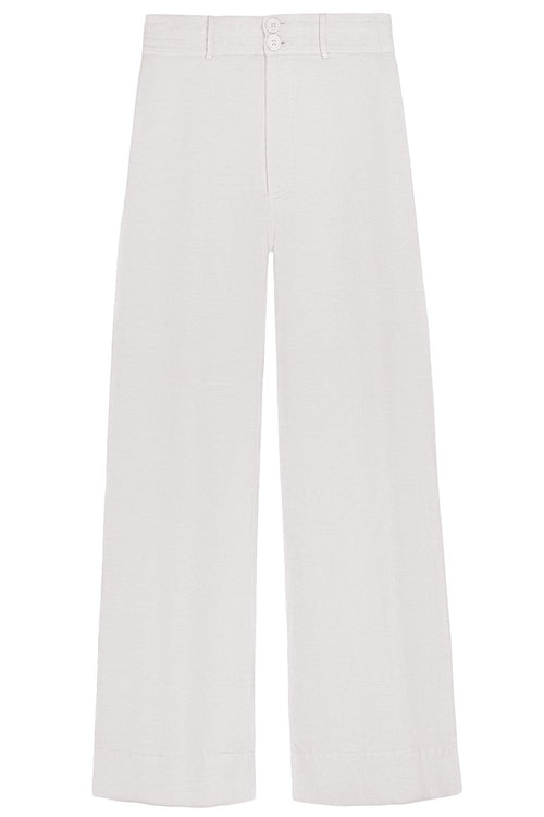 Long Merida Pant in Cream