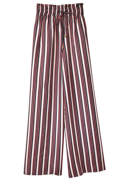 Lorenzo Pant in Cordoba Stripe Black