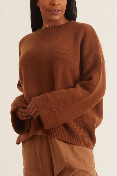Knightsbridge Sweater in Mahogany
