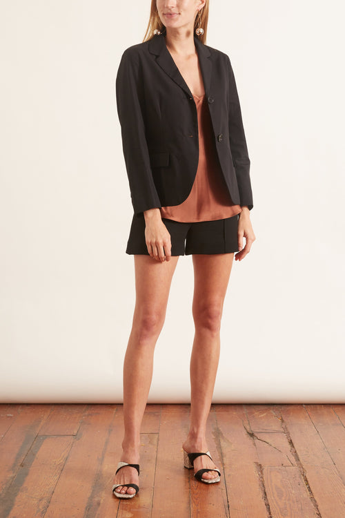 Classic Shrunken Jacket in Black