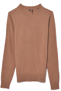 Crewneck Sweater in Camel