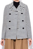 Double Stripe Jacket in Natural