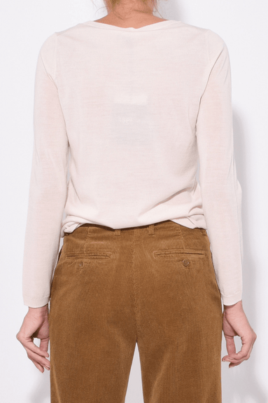 Lightweight Sweater in Natural