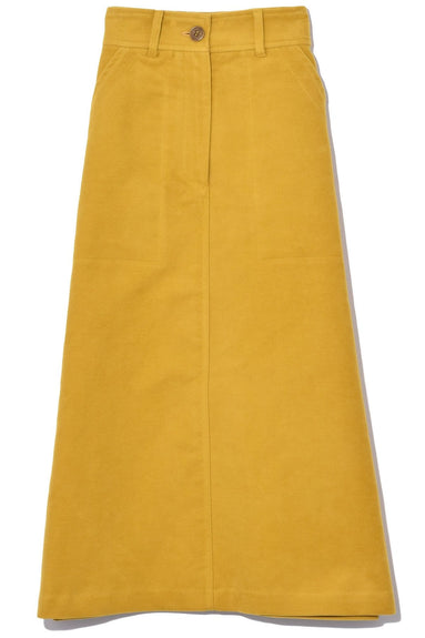 Midi Skirt in Yellow