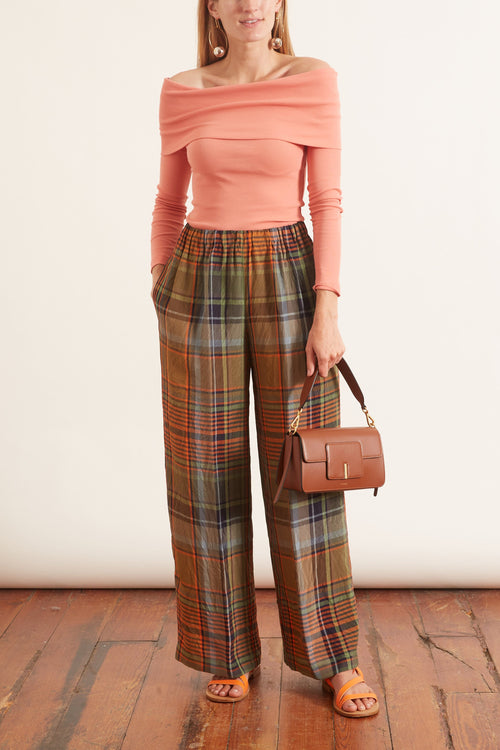 Plaid Pant in Plaid