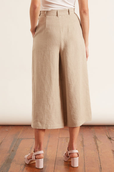 Skirt Pant in Stone