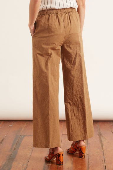 Stripe Classic Cotton Pant in Tobacco