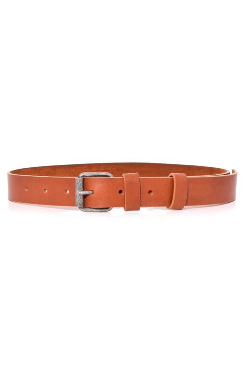 Wide Belt in Brown