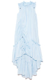 Emery Midi Dress in Pale Blue