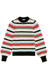 Stripe Wool Sweater in Multicolor